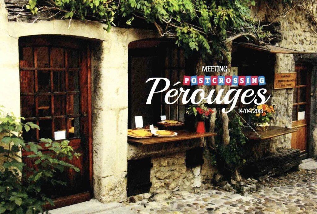 フランスのミートアップカード