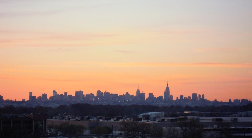 夜明けのニューヨーク